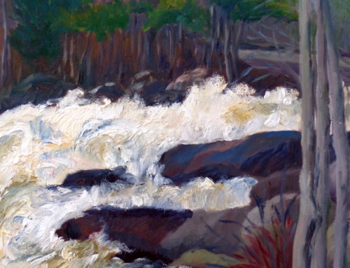 Waterfall, Riviere du Nord, St. Adele