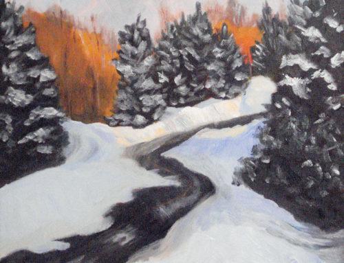 Winter Sun, Kinsella Drive